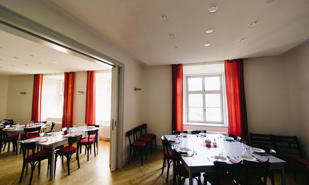 Übernachten uns Speisen im Tagungshaus Schloss Herborn