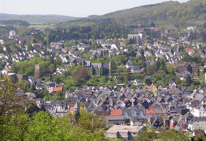 Das historische Schloss in Herborn