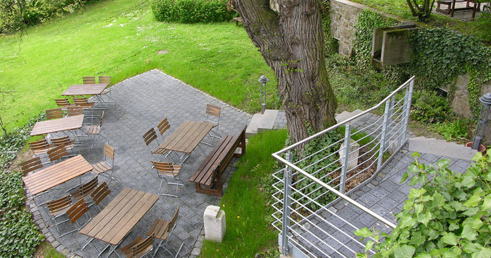 Schlossgarten Schloss Herborn